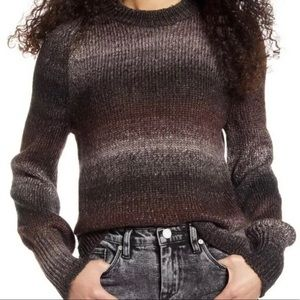NWT BP Striped Ombré Sweater Top Size XS